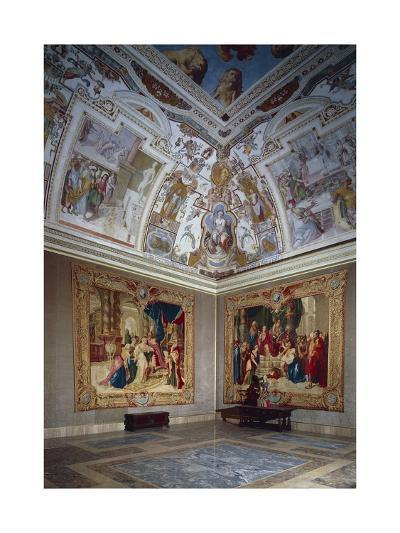 View of an Hall, Lateran Palace, Italy, Lazio Region, Rome--Giclee Print
