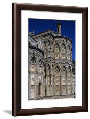 View of Apses of Cathedral of Monreale--Framed Giclee Print