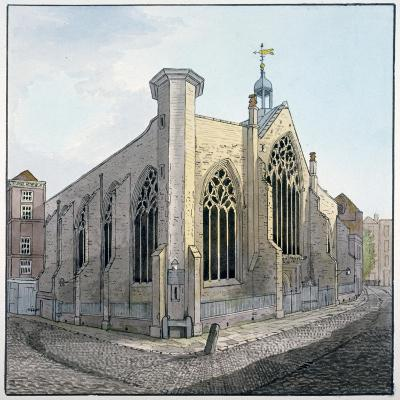 View of Austin Friars, City of London, C1800--Giclee Print