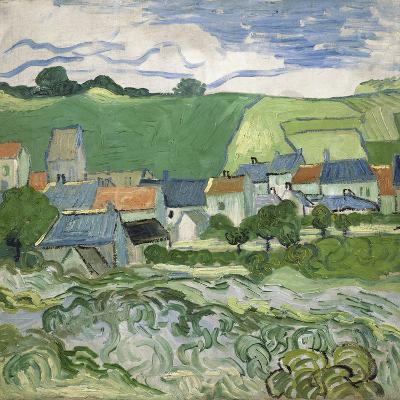 View of Auvers, 1890-Vincent van Gogh-Giclee Print