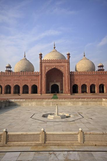 View of Badshahi Masjid, One of the Biggest Mosques in the World-Yasir Nisar-Photographic Print