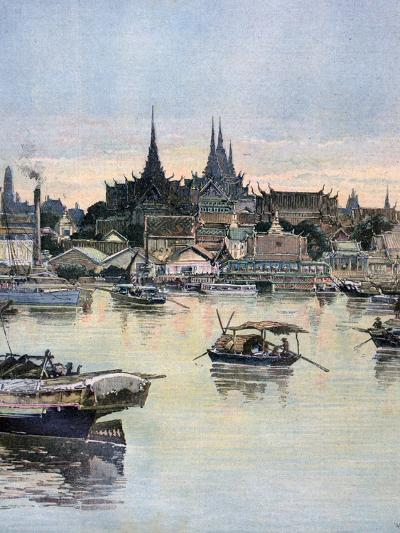 View of Bangkok, 1893-Henri Meyer-Giclee Print