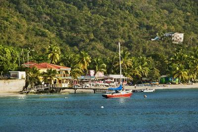 View of Bay, Cane Garden Bay, Tortola Island, British Virgin Islands-Massimo Borchi-Photographic Print