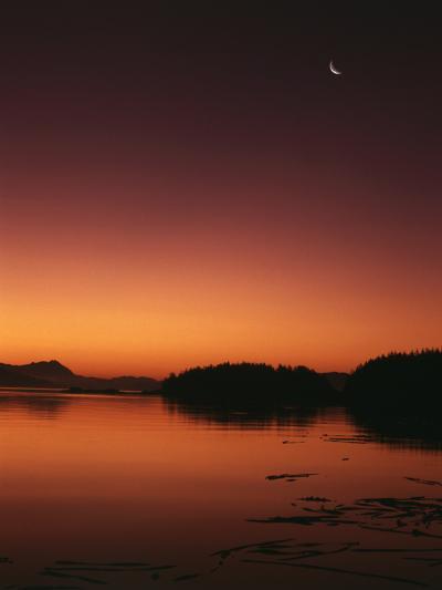 View of Beach at Dawn, Vancouver Island, British Columbia-Stuart Westmorland-Photographic Print