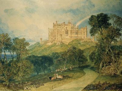 View of Belvoir Castle, 1816-J^ M^ W^ Turner-Giclee Print