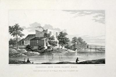 View of Beresford White House, Hackney Marsh, Hackney, London, 1830-Edward Duncan-Giclee Print