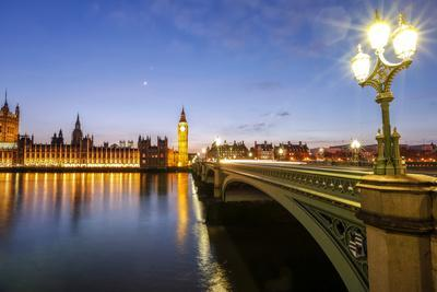 View of Big Ben and Palace of Westminster-Roberto Moiola-Photographic Print