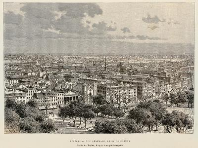 View of Boston, 1892, United States of America, 19th Century--Giclee Print