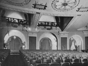 View of box and orchestra foyers from the stage, Regent Theatre, Brighton, Sussex, 1922