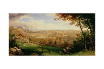 View of Bradford, 1849-William Cowen-Giclee Print