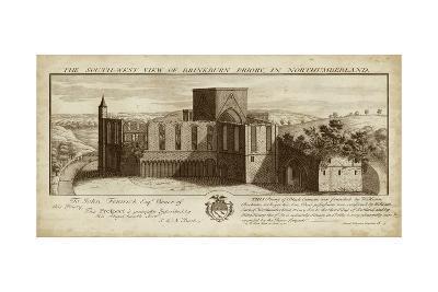 View of Brinkburn Priory-Nathanial Buck-Art Print