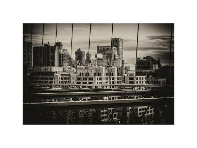 View of Brooklyn Bridge of the Watchtower Building-Philippe Hugonnard-Photographic Print