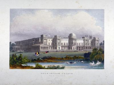 View of Buckingham Palace, Westminster, London, C1830--Giclee Print