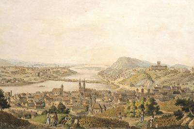 View of Budapest, Hungary 19th Century Print--Giclee Print