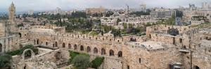 View of buildings in an Old City, Jerusalem, Israel