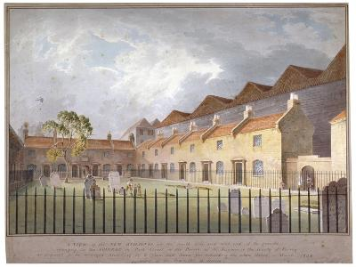 View of Buildings in Park Street, Southwark, London, 1808-George Smith-Giclee Print