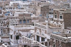 View of Buildings in Sanaa (Unesco World Heritage List, 1986), Yemen