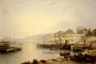 View of Burntisland-Andrew Wilson-Giclee Print