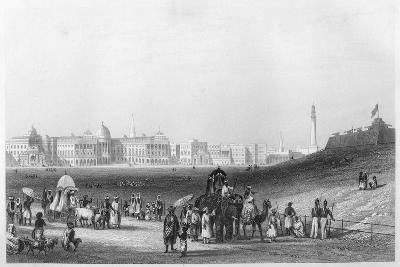 View of Calcutta from the Esplanade, C1860--Giclee Print