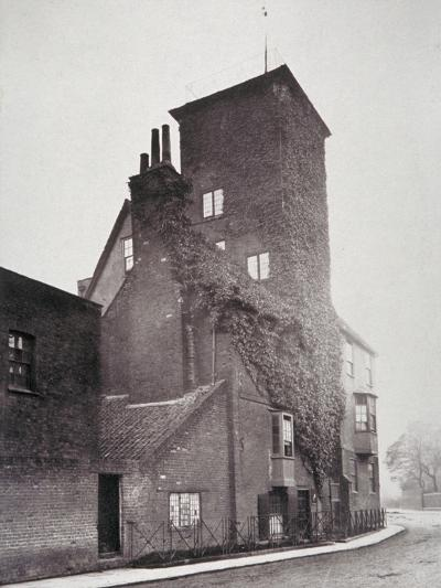 View of Canonbury House, Islington, London, 1879-Henry Dixon-Giclee Print