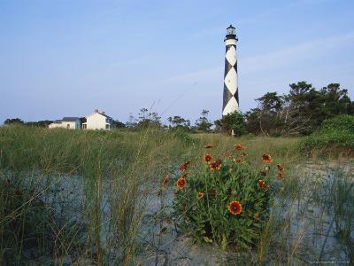 View of Cape Lookout Lighthouse-Stephen Alvarez-Photographic Print