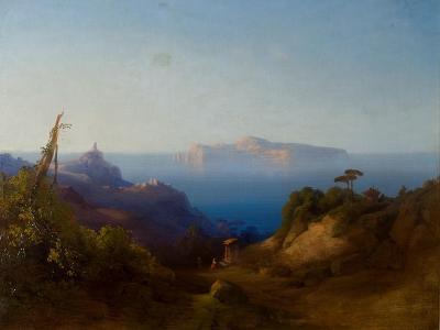 View of Capri-Consalvo Carelli-Giclee Print