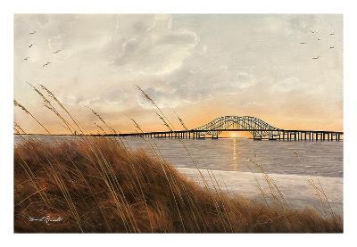View of Captree Bridge-Diane Romanello-Art Print