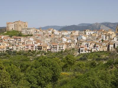 View of Castelbuono, Sicily, Italy, Europe-Martin Child-Photographic Print