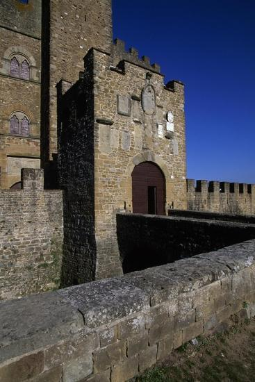 View of Castle of Counts Guidi--Giclee Print