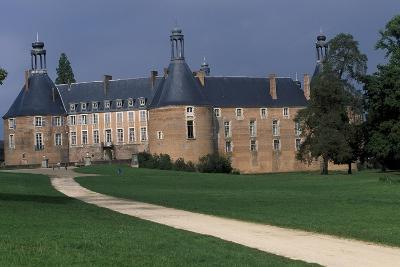 View of Castle of Saint-Fargeau, Burgundy, France, 15th-17th Century--Giclee Print