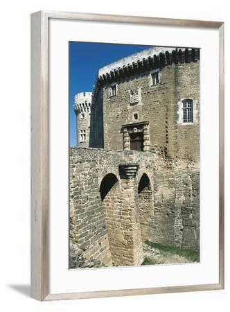 View of Castle of Suze-La-Rousse, Rhone-Alpes, France, 11th-18th Century--Framed Giclee Print