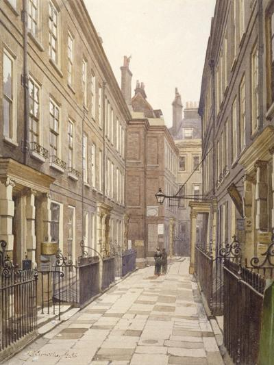 View of Catherine Court, Tower Hill, London, Looking East, 1886-John Crowther-Giclee Print