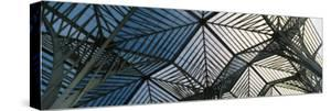 View of Ceiling of a Railroad Station, Oriente Station, Lisbon, Portugal