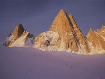 View of Cerro Fitzroy (Center) and Surrounding Peaks-Bobby Model-Photographic Print