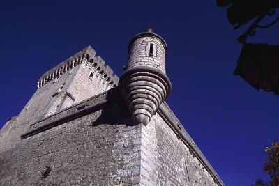 View of Chateau De Aulan, Rhone-Alpes, France, 12th Century--Giclee Print