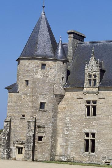 View of Chateau De Beaumanoir, Le Leslay, Brittany, France--Giclee Print