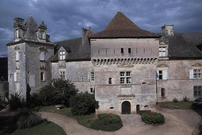 View of Chateau De Cenevieres, Midi-Pyrenees, France, 13th-16th Century--Giclee Print