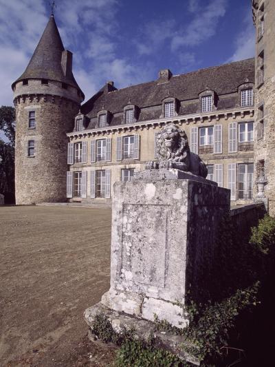 View of Chateau De Coussac-Bonneval, Limousin, France, 14th-17th Century--Giclee Print