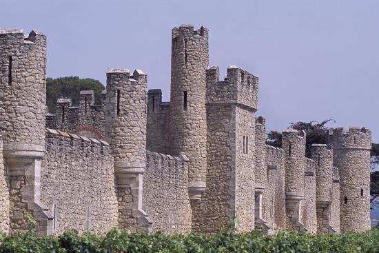 View of Chateau De Grezan-Louis Garros-Giclee Print