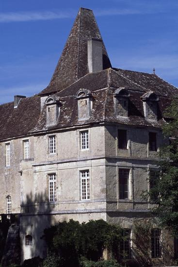 View of Chateau De La Marthonie, Saint-Jean-De-Cole, Aquitaine, France, 13th-17th Century--Giclee Print