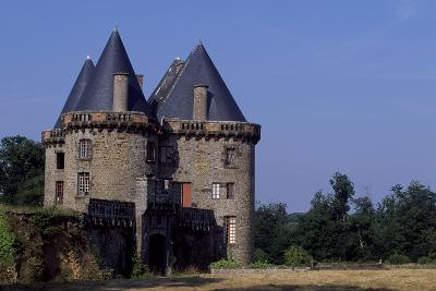 View of Chateau De Landal, Broualan, Brittany, France 15th-19th Century--Giclee Print
