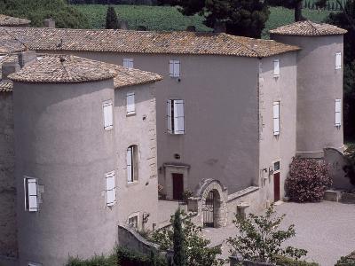 View of Chateau De Lezignan-Le-Cebe, Languedoc-Roussillon, France--Giclee Print