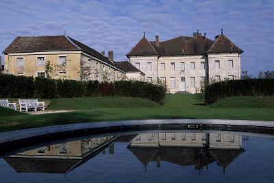 View of Chateau De Moncley, 1778-1790-Claude Bertrand-Giclee Print