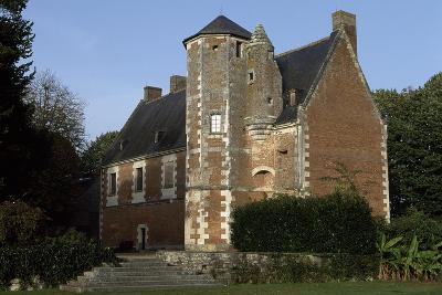 View of Chateau De Plessis-Les-Tours, in La Riche, France--Giclee Print