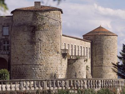 View of Chateau De Ravel, Auvergne, France, 12th-18th Century--Giclee Print