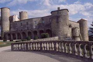 View of Chateau De Ravel, Auvergne, France, 12th-18th Century