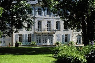 View of Chateau De Salans, Franche-Comte, France--Giclee Print