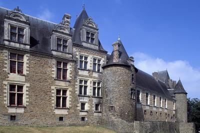 View of Chateaubriant Castle, Pays De La Loire, France--Giclee Print