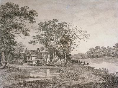 View of Cheesecake House in Hyde Park, London, 1795--Giclee Print