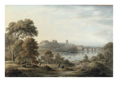 View of Chester-John Glover-Giclee Print